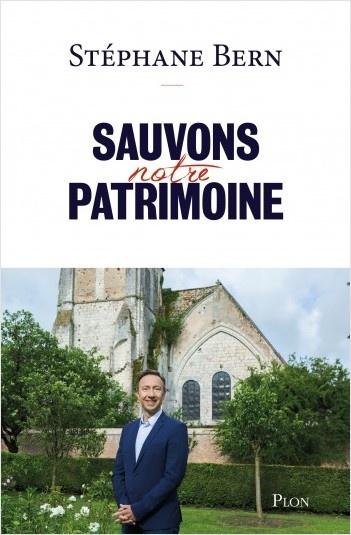 Sortie du livre Sauvons notre patrimoine, par Stéphane Bern.