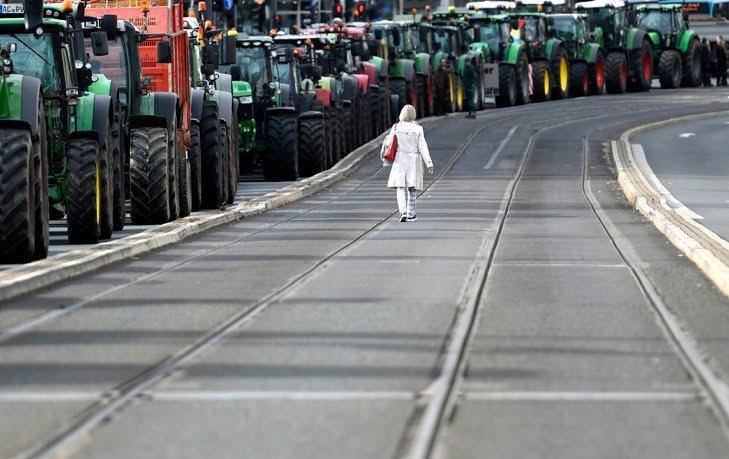 Allemagne: journée de colère chez les agriculteurs