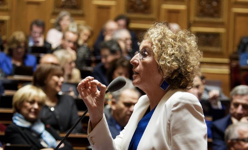 """Muriel Pénicaud a refusé d'assortir une date limite aux ordonnances """"coronavirus""""."""