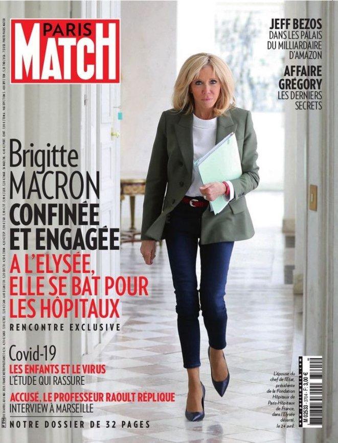 Le n° 3704 du 30 avril au 6 mai 2020. © Paris Match