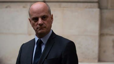 Le ministre de l'Education Jean-Michel Blanquer, le 17 octobre 2020 à Paris