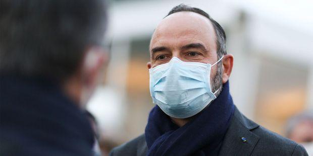 L'ancien Premier ministre Edouard Philippe le 22 janvier au Havre.